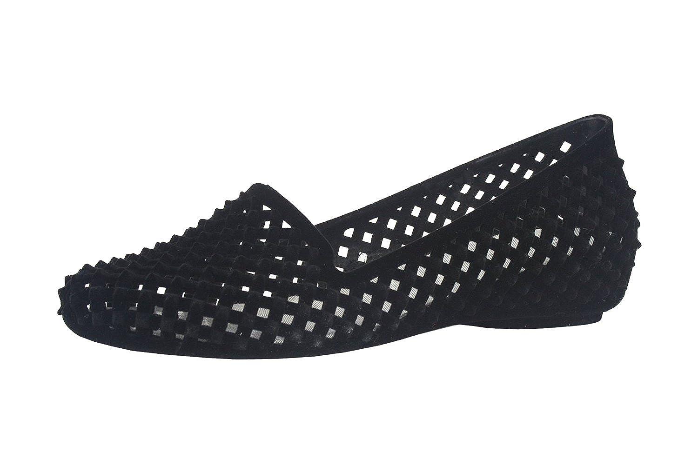 Women's Velvet Spike Latticed Flat Shoes