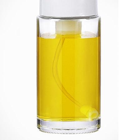 Pulverizador De Vidrio Tanque De Control Cuantitativo Botella De Spray Utensilios De Cocina (grupo 1),White: Amazon.es: Hogar