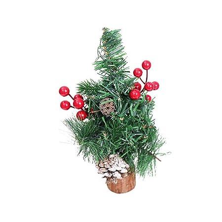 Sunlera Árbol de Navidad colgado piñas de Abeto Madera Pinecone ...