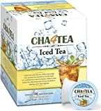 Cha4Tea 36-Count Black Iced Tea K Cups for Keurig K-Cup, Unsweetened