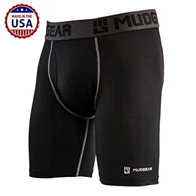 MudGear Performance Boxer Brief for Men, Breathable Wicking Base Layer Underwear Packed with Tech for Sports and Running