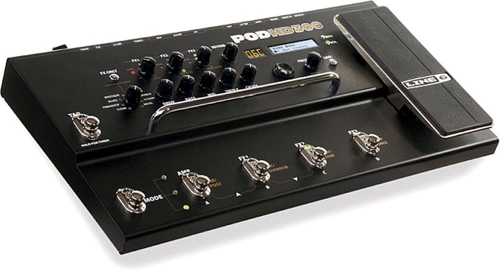 【国内正規品】 Line6 (ライン6) POD アンプシミュレーター HD300 B0045N4SRE