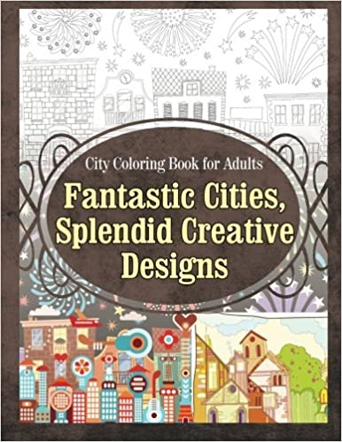 splendid structures adult coloring books