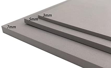 EVA Foam Sheet Craft Sheet Thickness 3mm/5mm/7mm Grey 8 color For Cosplay  Project DIY(9 6