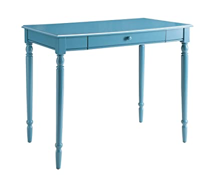 Superieur Convenience Concepts French Country Desk, 36 Inch, Blue