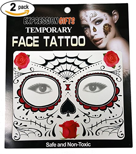 Roses Web & Spade Day Of The Dead - 2 Pa - Rose Web Shopping Results