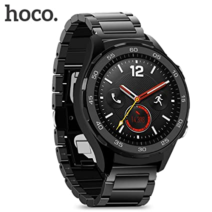 huawei watch 2 classic. [2017 newest version]huawei watch 2 band, hoco 20mm solid stainless steel metal huawei classic
