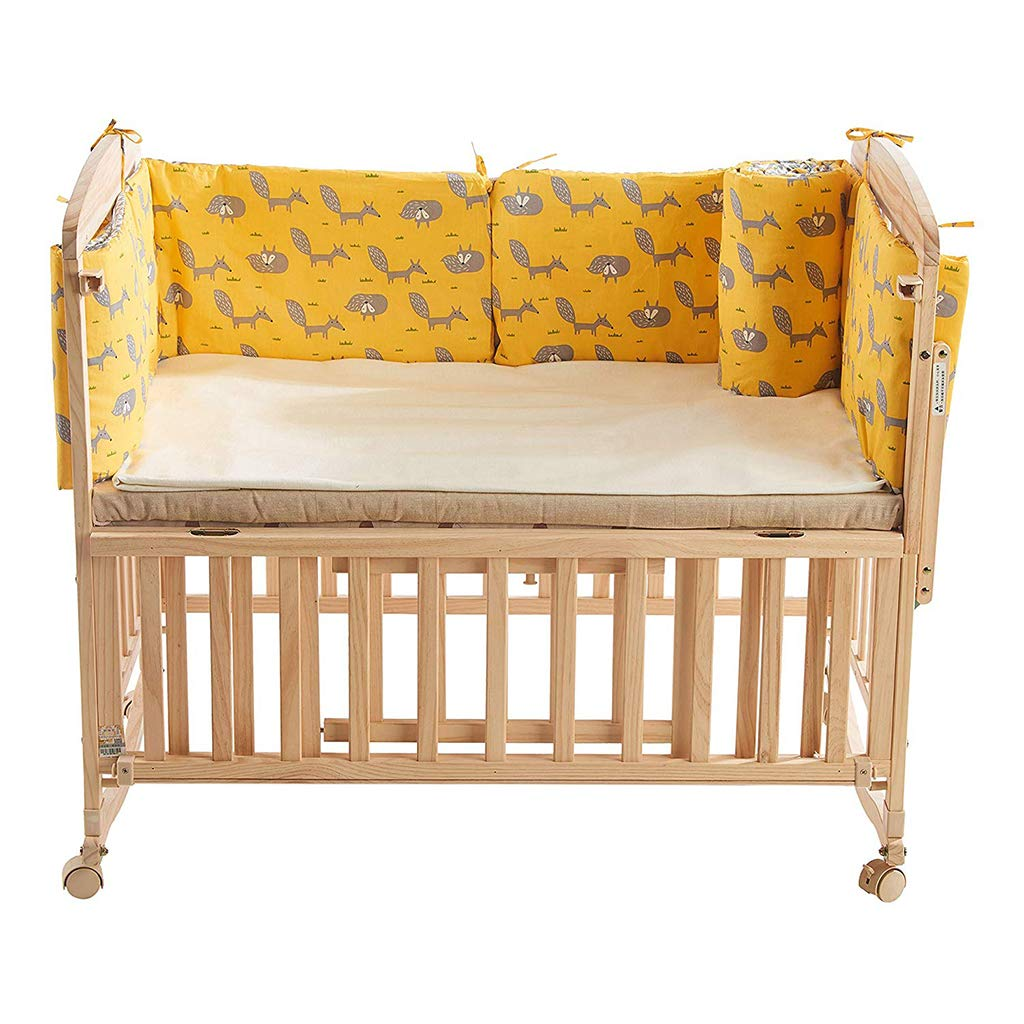 3pcs Set intorno a tutto il letto Culla Sleep Bumper Pillow Culla Paraurti Pads Bed Cradle Protector Paracolpi Lettino Bed Rail Decoration
