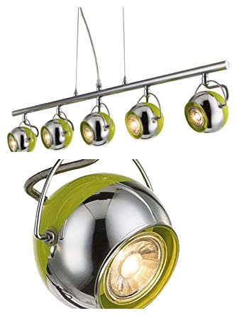 LED Pendelleuchte Deckenleuchte Deckenlampe Hängeleuchte Spot-Strahler Lampe