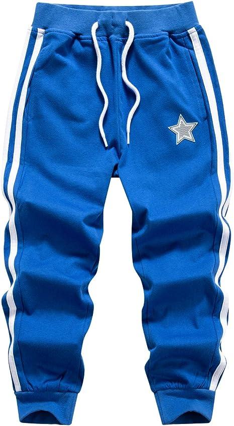 WIYOSHY Boys Active Sweatpants Drawstring Lightweight Jogging Athletic Pants