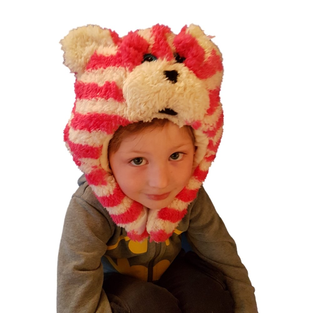 Bagpuss Hat for Kids - warm and cute.