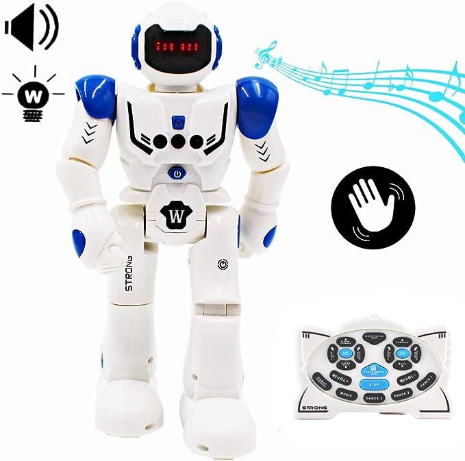 deAO RC Robot Programable, Inteligente e Interactivo con Sensor de ...