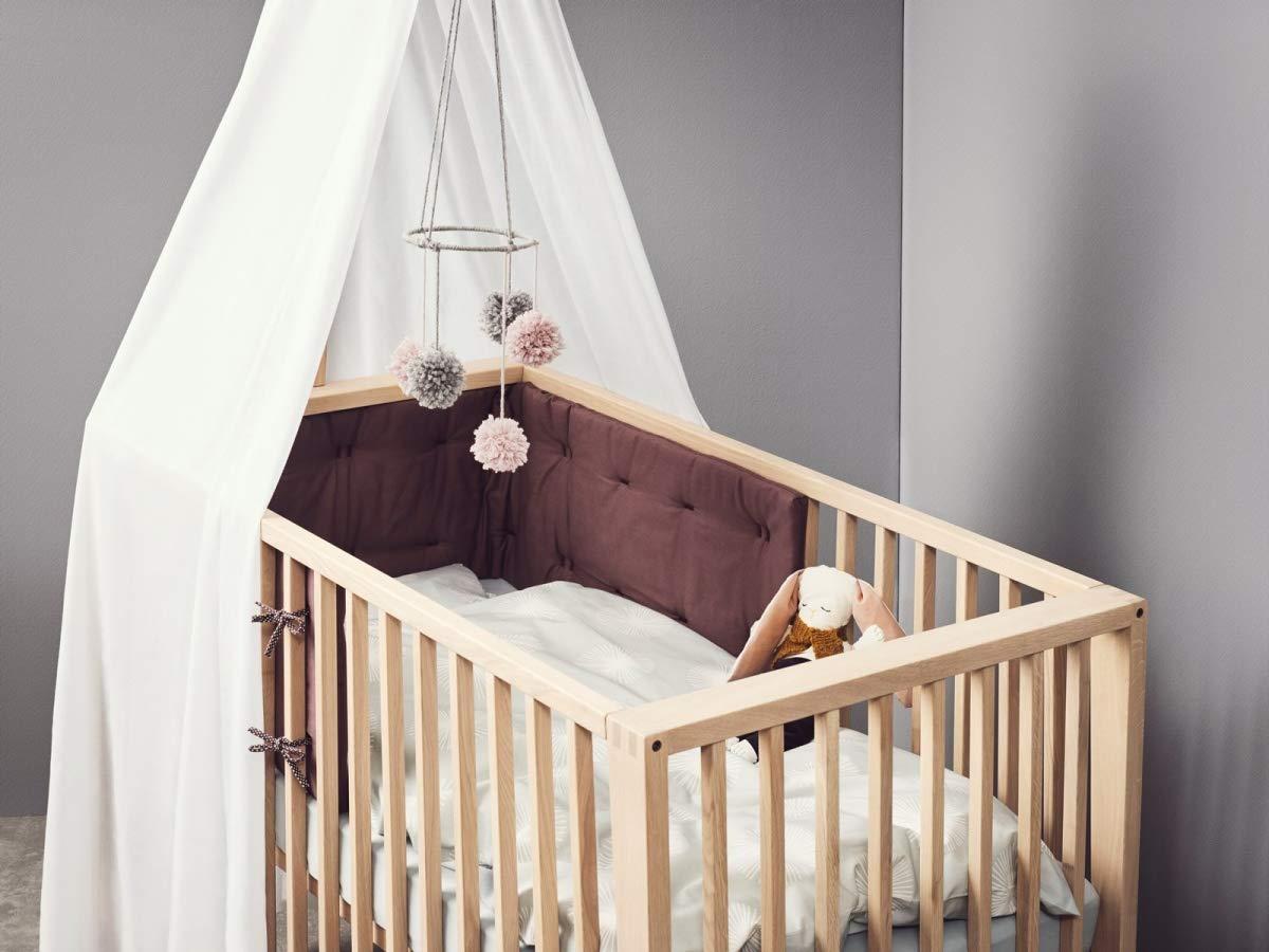 Leander Linea Himmel Fur Babybett Hohe 170 Cm In Weiss Amazon De