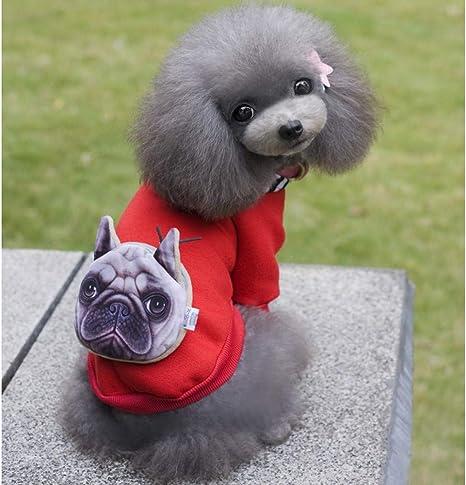 YOMDYSW Ropa para Perros- Disfraz De Perro Algodón Mascota ...