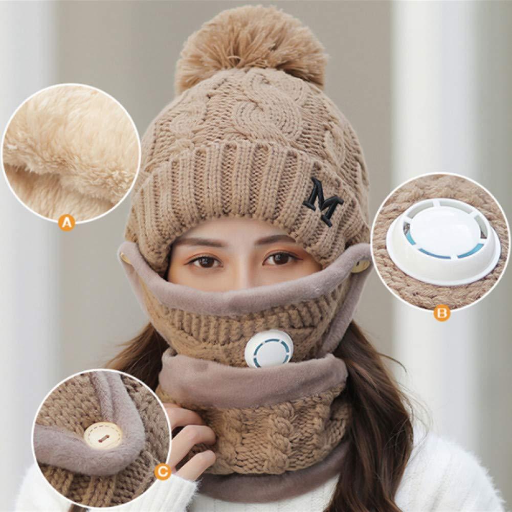 XJDMG Sombrero de Punto Wool Hat Gorra Sombrero De Ciclismo De ...