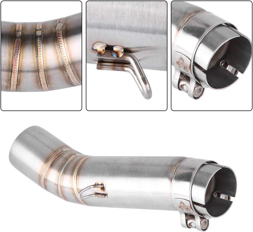Keenso in acciaio inox collegamento per tubo di scarico di moto