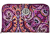 Vera Bradley Rfid Turnlock Wallet, Signature Cotton, Dream Tapestry