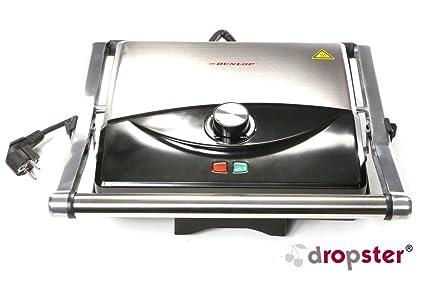 Dunlop 871125206140 parrilla de contacto, 2000 W: Amazon.es ...