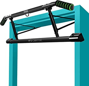 Kaufam Pull Up Bar Doorway Chin Up Bar Doorframe No Screw Hammer Grip Pullup Handles, Home Workout Equipment for Home Gym Indoor Exercise US Invention Patent