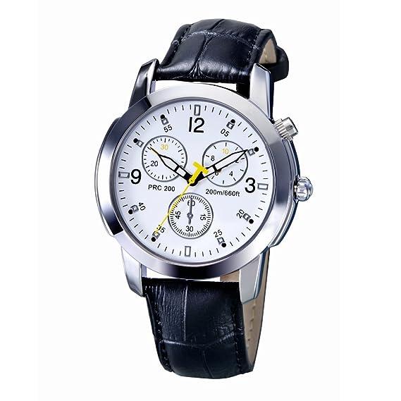 Prosperveil Hombres Moda Reloj Inteligente Impermeable Natación Cuarzo Deporte Bluetooth Reloj: Amazon.es: Relojes
