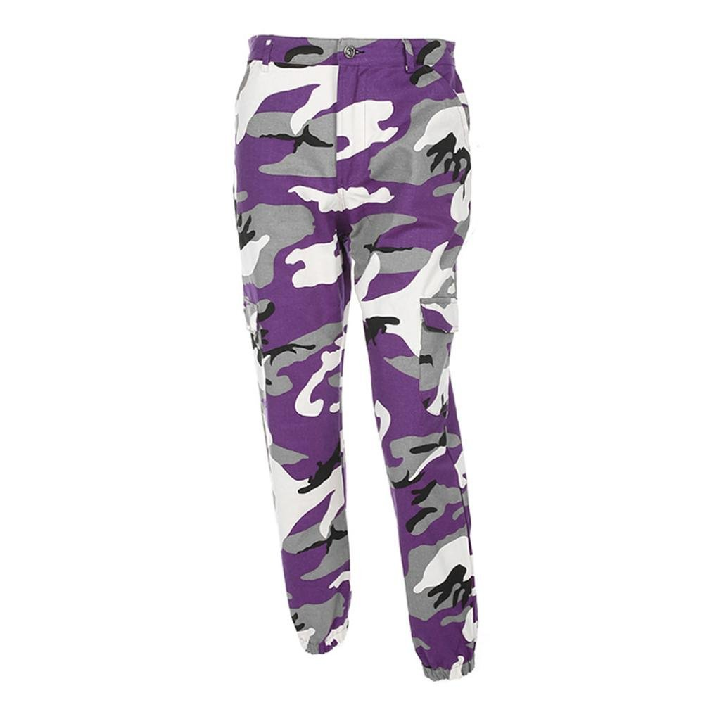 Rambling Women's Sports Camo Cargo Pants, 2018 Youth Outdoor Casual Camouflage Trousers Jeans
