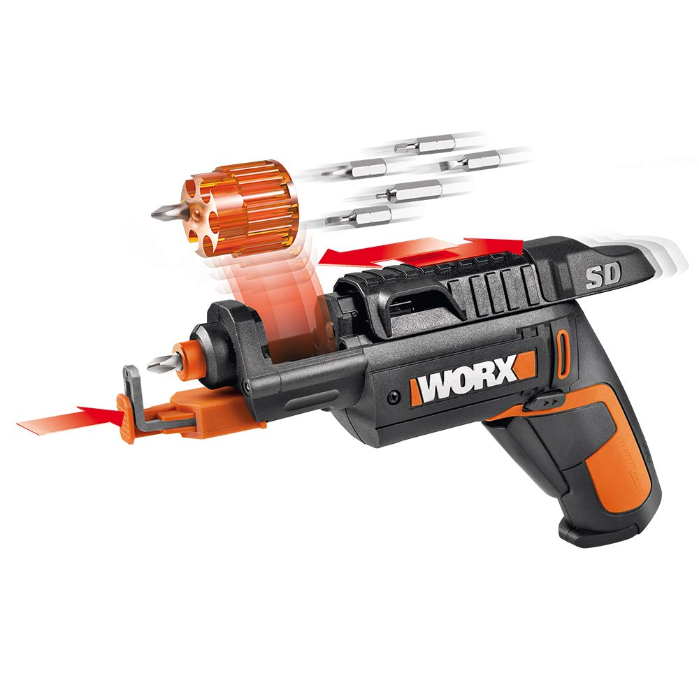 WORX WX255L SD Semi-Automatic Power Screw Driver with Screw Holder - Top 6 Amazing Gadgets
