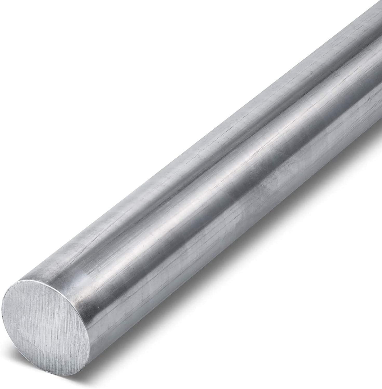 Redondo de Acero Inoxidable Varilla Wzwwjs Resistente a la corrosión, Largo 500 mm, Diámetro: 6 mm, 8 mm, 10 mm,6mm