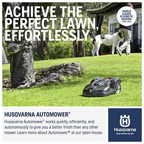 Husqvarna 967622505 Automower 430X Robotic Lawn Mower, 3/4 acre...