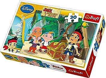 Trefl 18182 - Puzzle Classique - Jack Le Pirate - 30 Pièces: Amazon ...