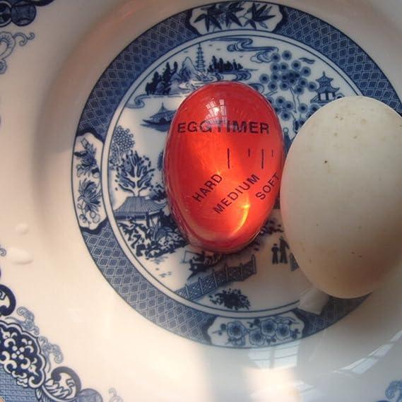Babysbreath17 Cambio de color Egg Timer perfectos huevos hervidos Por Temperatura ayudante de la cocina