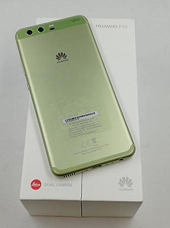 Huawei VTR-L29 Greenery 12,95 cm (5,1 Zoll) Smartphone P10 (64GB, Dual SIM, LTE, Bluetooth, Android 7.0 Nougat) grün