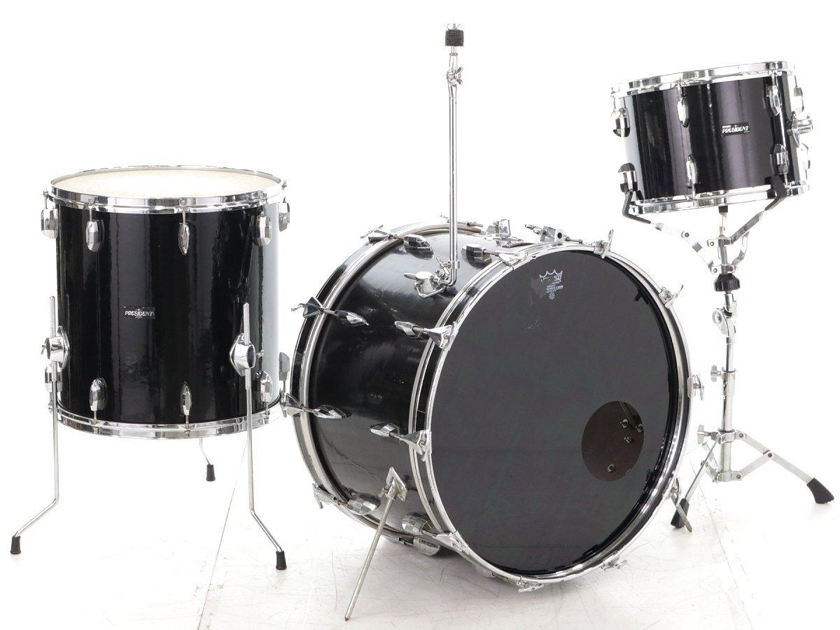 Pearl/1960s President Series 3点ドラムセット パール B07D3S52T3