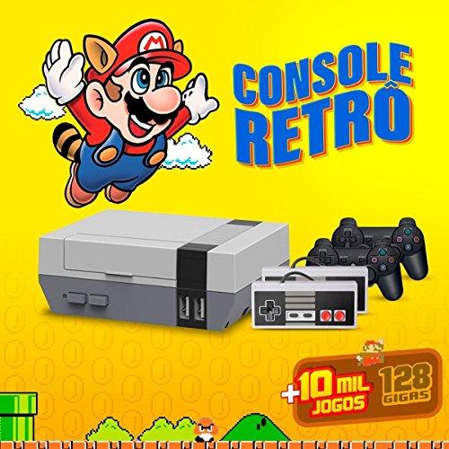 Console Retro Brevit - Edição Deluxe - 128gb - Recalbox