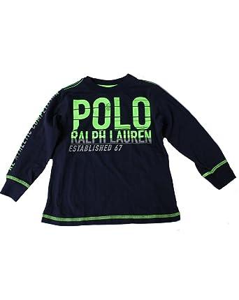 Polo Ralph Lauren - Camiseta de Manga Corta - para niño Azul Azul ...