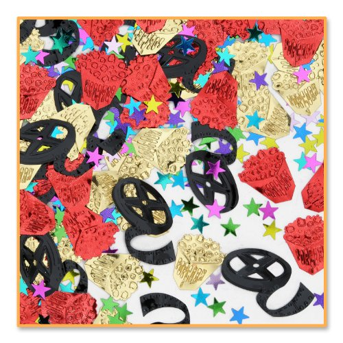 Movie Night Confetti (Pack of 96) by Beistle