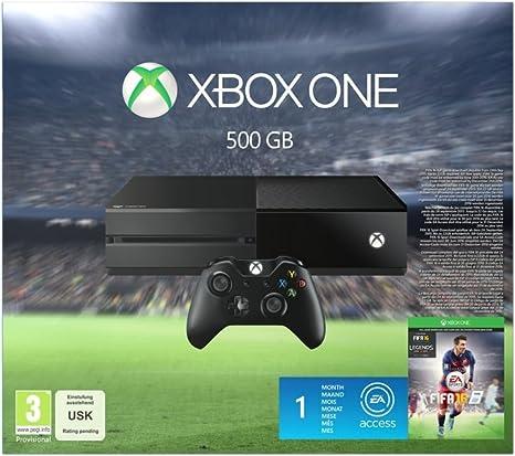 Xbox One 500 GB Console With Fifa 16 [Importación Inglesa]: Amazon.es: Videojuegos