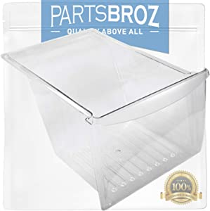 240337103 Crisper Pan by PartsBroz - Compatible with Electrolux Refrigerators - Replaces AP2115849, 240337102, 240337105, 240337107, 240337108, 240337109, 891037, AH429854, EA429854, PS429854