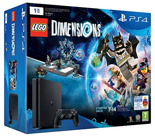 7 opinioni per PlayStation 4 1 Tb D Chassis Slim + Lego Dimensions Starter Pack [Bundle]