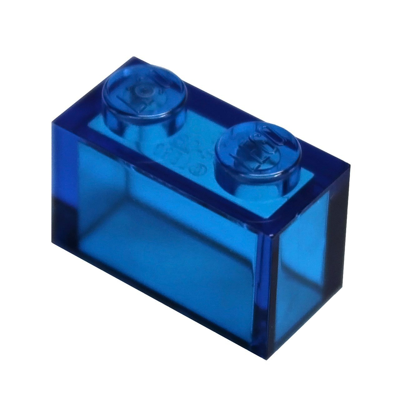 Transparent Clear Trans-Clear LEGO Parts and Pieces 1x2 Brick x200