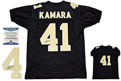 aaacb710 Signed Alvin Kamara Jersey - Beckett - Beckett Authentication - Autographed  NFL Jerseys