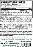 TNVitamins Super Potent Acai Berry 3000 Mg 90 Capsules Discount