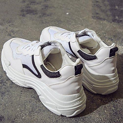 Couleur Couleurs Noir uk4 Bas Femmes Mesh Eu36 Printemps Trois Nan Chaussures Épais cn36 Respirant À Mode Eté De Choisir Taille Course HZa7Xgq