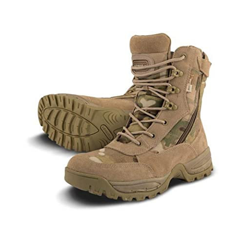 Mens Combat Military Army Camo Patrol Hiking Cadet Work Multicam Recon Special Forces Boot 4-12 KE_6