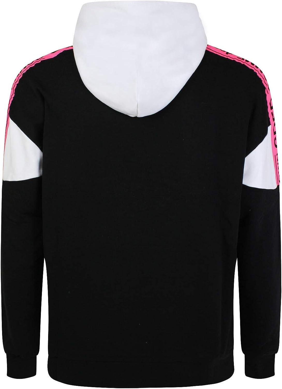 COMME DES FUCK DOWN Sweatshirt mehrfarbig mit Fluo Logo Mehrfarbig