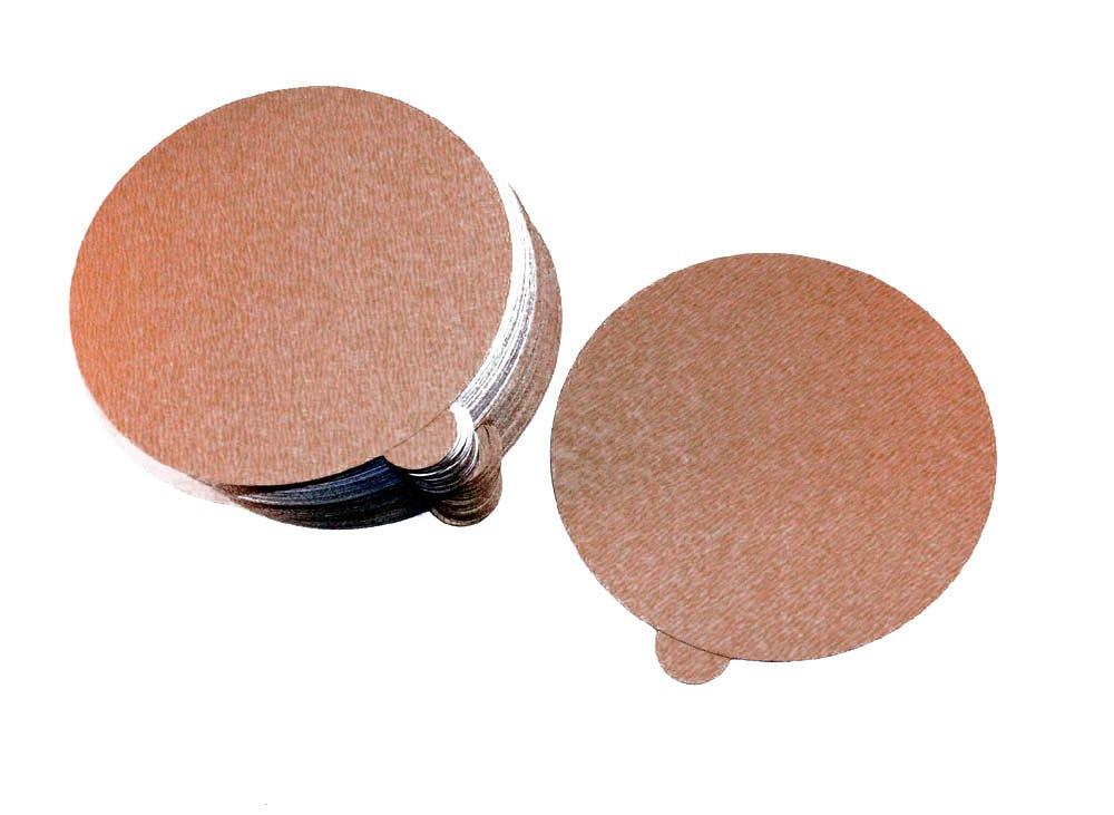 Car Builder Supply 777q100 - PSA DA Gold Paper Disks 6'' 220C Aluminum Oxide 100pc 220 grit