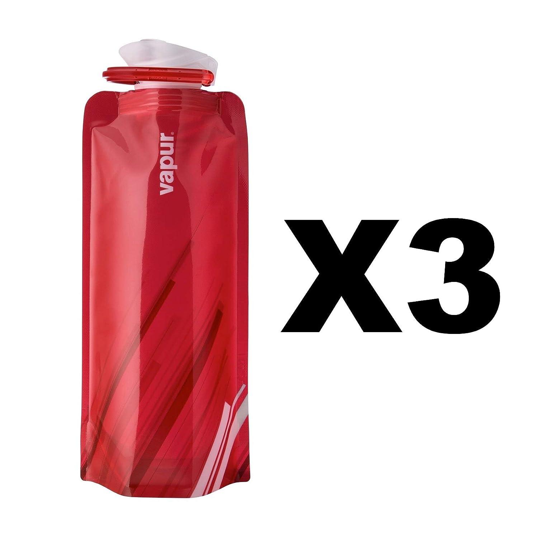 Elemento Vapur 652 rojo Flexible botella de agua (plegable, 5 L ...