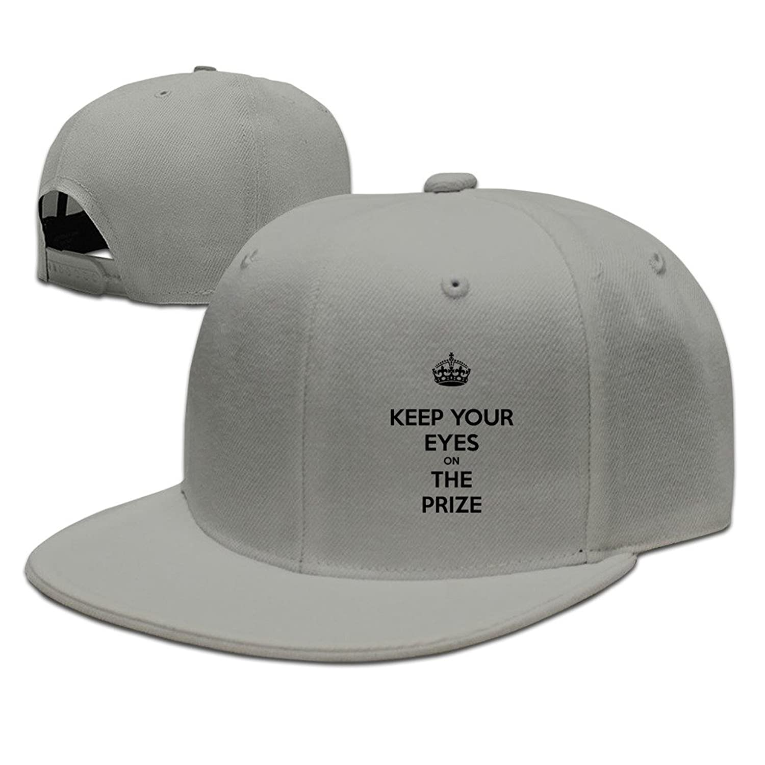 HNN Unisex Keep Your Eyes On The Prize Flat Baseball Caps Hats