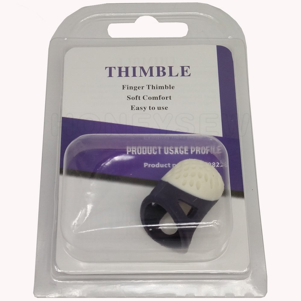 Two Size//set HONEYSEW Soft Comfort Thimble Two Size For Choose