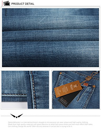 Hombre X Pantalones 817 Jeans Demon Recto amp;Hunter Vaqueros Straight Blue Series Dh8309 ZxIWpWqB