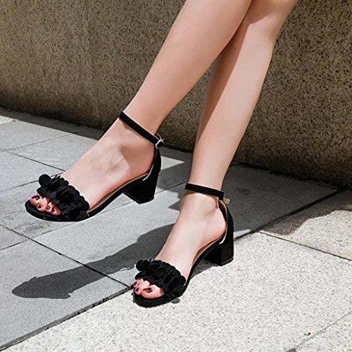 052290c43 Zapatos de tacón mujer ❤ Amlaiworld Sandalias de tacón alto para mujer  primavera verano Sandalias
